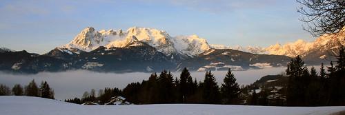panorama mist clouds sunrise canon geotagged austria österreich europa europe nebel wolken alpen 31 sonnenaufgang überdenwolken canonefs1855mmf3556 werfenweng zistelberghof