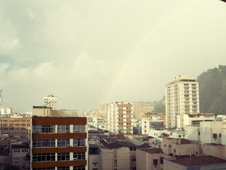 Raimbow from the window.