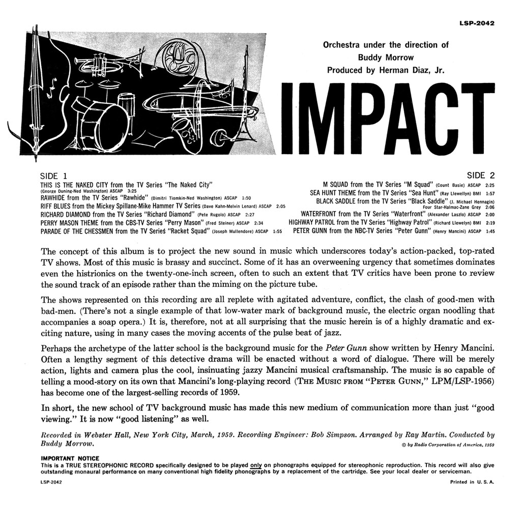 Buddy Morrow - Impact