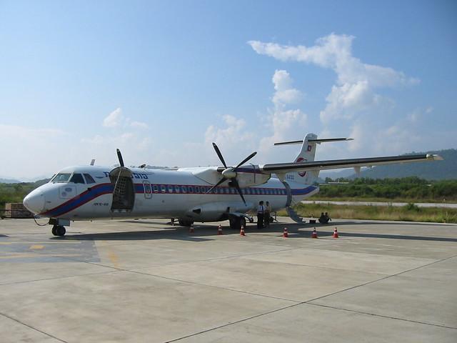 Lao Airlines ATR 72, Louangphrabang