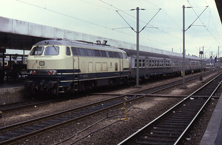 02.08.87 Hannover Hbf 218.265
