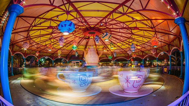 Magic Teacups Whirling By