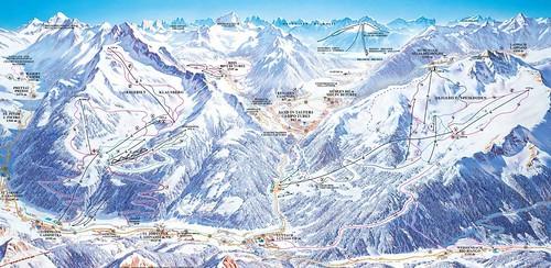 Klausberg - mapa sjezdovek