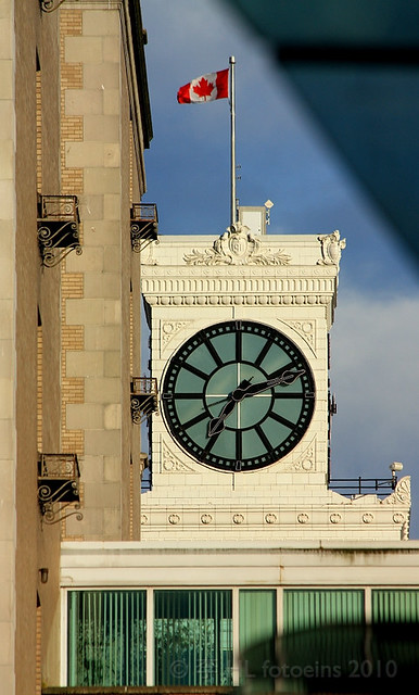 Clock Tower, Vancouver Block
