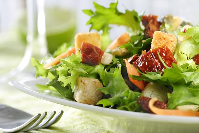 Header of salade