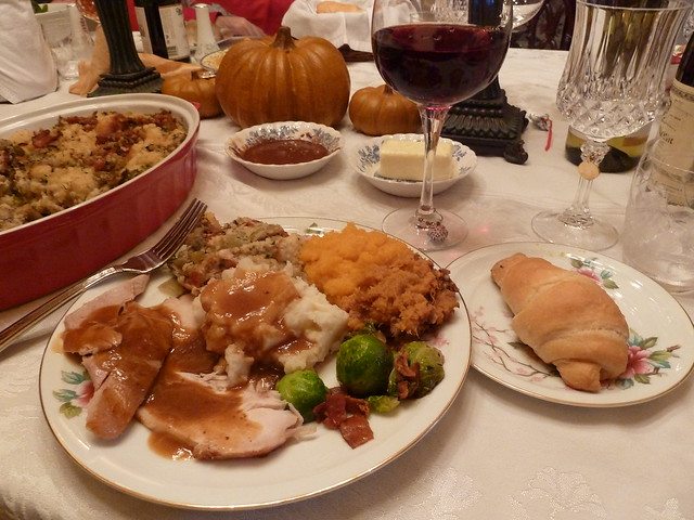 Thanksgiving Truth: Turkey Not Responsible for Drowsiness