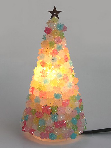 sugar candy tree lighting
