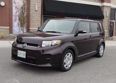 automobile, automotive exterior, wheel, vehicle, compact sport utility vehicle, scion, scion xb, bumper, land vehicle,