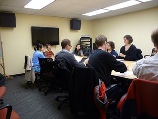 Library Instruction Session, Mills Music Library, UW Madison