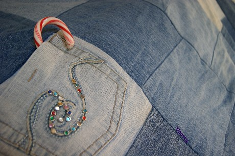 How to Make a Rag Denim Quilt : Video Series | eHow