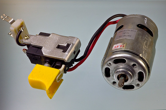 Electric Motor And Trigger Speed Control Flickr Photo