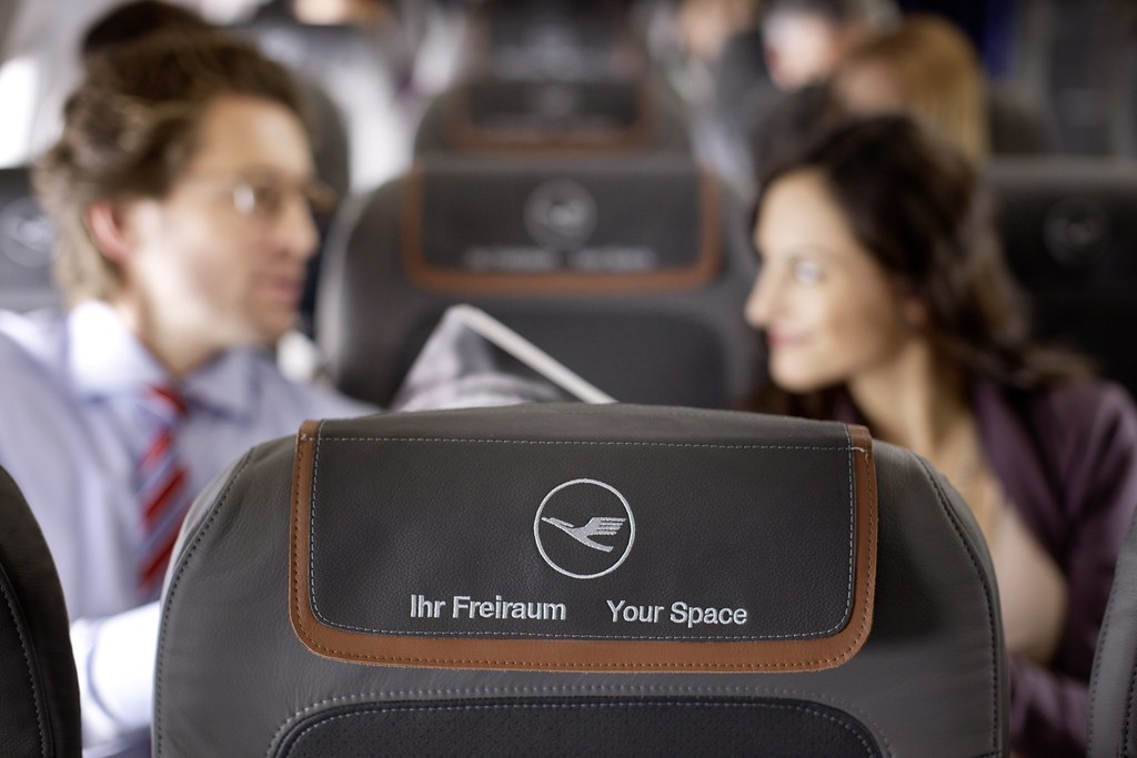 Lufthansa new short haul and mid haul seating