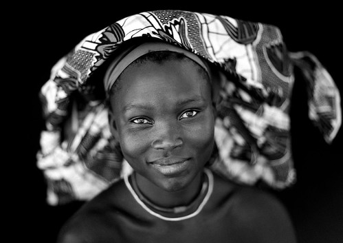 Mucubal tribe woman - Angola