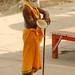 Sadhu Along the Ghats - Varanasi, India