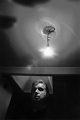 Francis Bacon, by Arnold Newman 1975