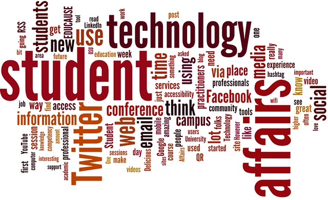 Student Affairs word cloud