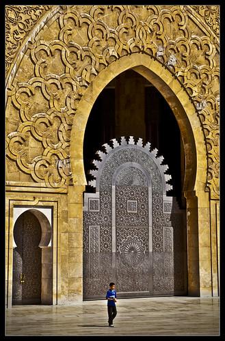Golden Arched Door, Casablanca