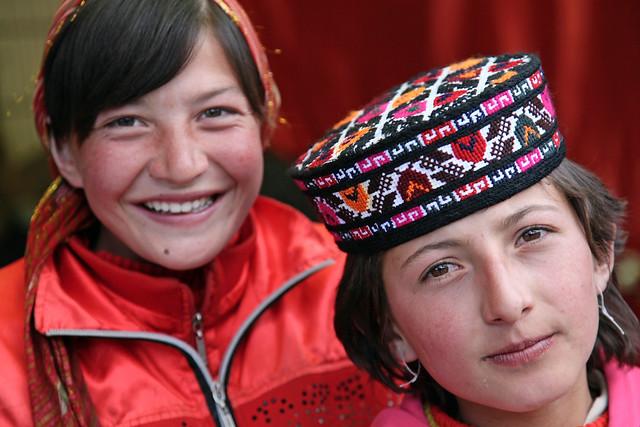 タシュクルガンの美少女たち