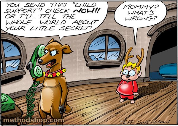 Santa's Reindeer Love Child