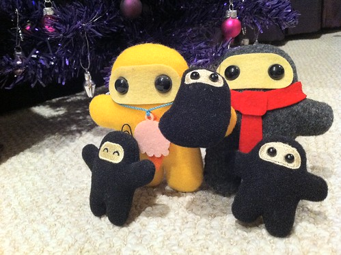 Merry Christmas from our Ninja family to yours!  Shawnimals 12/25/10