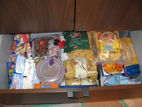Pantry Cupboard, top drawer