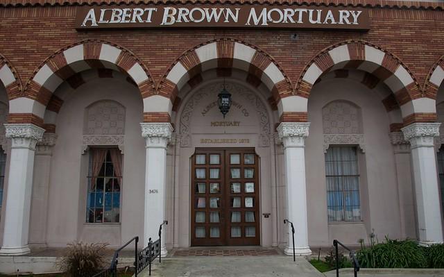 Header of Albert Brown