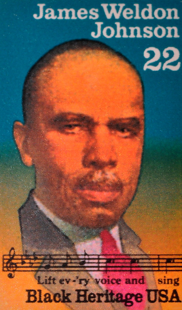 James Weldon Johnson Black Heritage Stamp