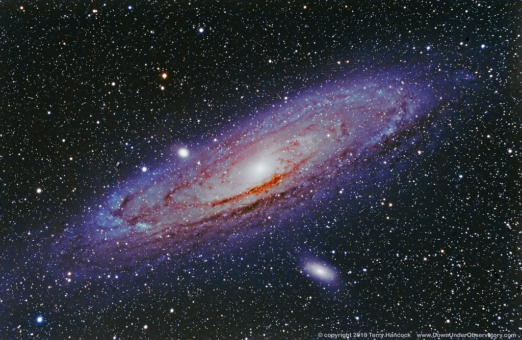 M31 Andromeda Galaxy (NGC 224) Wide Field