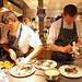 On the pass during the first service at Gastown's L'Abattoir