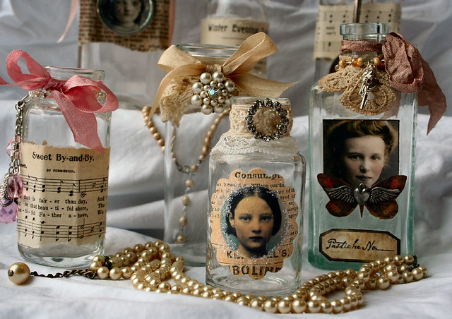 Altered Love Potion Bottles