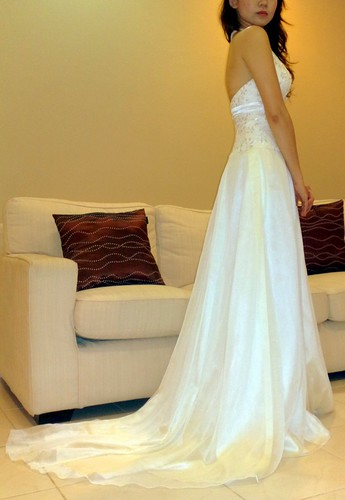 New Carven Ong Bridal Gown Selling Cheap Garage Sales
