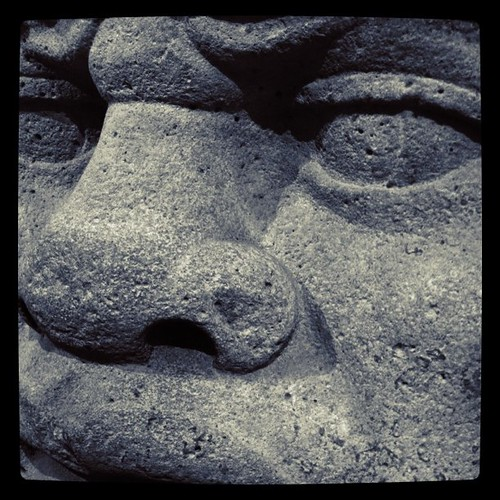 Giant Olmec Head