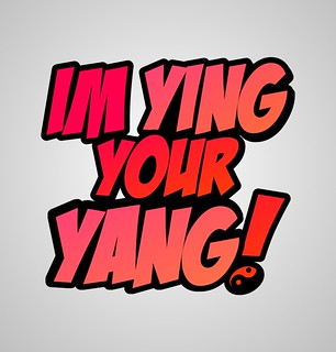 'Im Ying Your Yang' Print Design