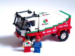 Octan Dakar race truck (1) by Mad physicist
