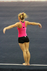 TWU Gymnastics Floor - Brittany Johnson