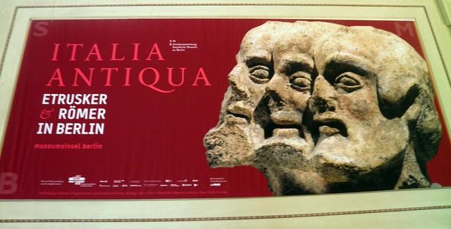 Italia Antiqua: Etruscans and Romans (Altes Museum, Berlin)