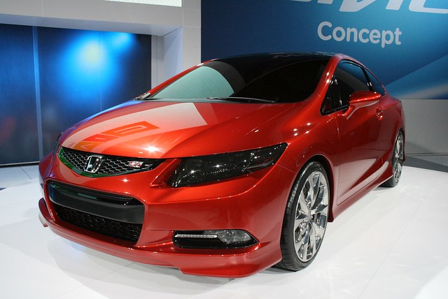 2011 Detroit: Honda Civic Si Coupe