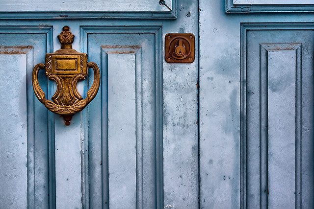 Puerta en Frigiliana - Door in Frigiliana