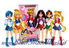 New Sailor Moon Dolls By Giochi Preziosi (2011)
