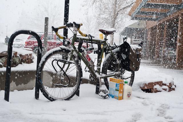 Winter Bike to Work Day in Boulder