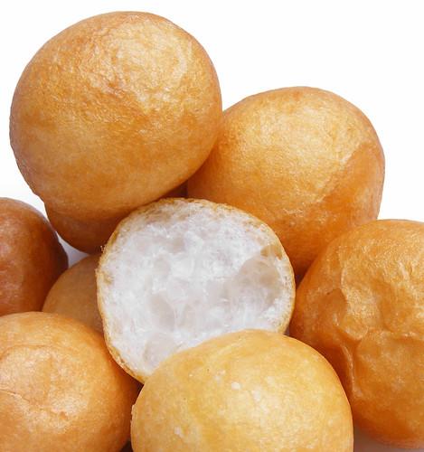 Fried gluten balls