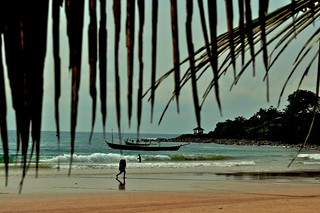 Busua Beach - View from my Hotel