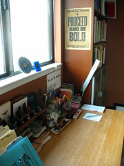 Reorganized desk