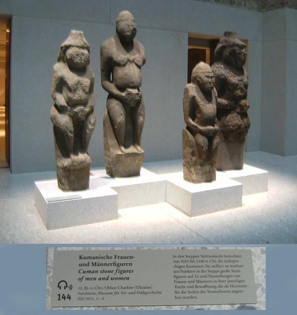 Cuman statues.