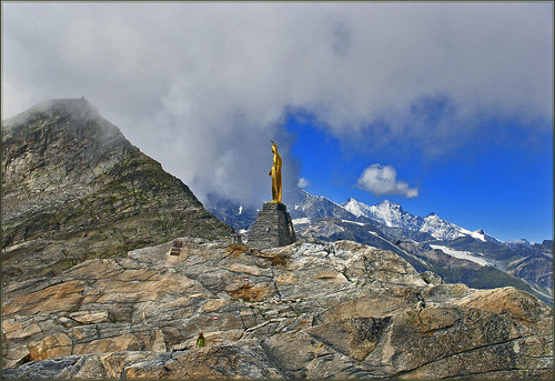 Happy Birthday Dear Ronaldo !!! An image from Monte Moro Pass(2853m) Switzerland / Italy.