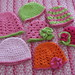 Crochet Hats for Donating