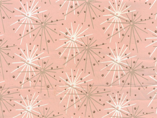 Pink Starburst wallpaper