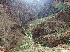 Devil's Corkscrew - Bright Angel Trail - Grand Canyon