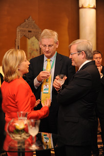 Secretary Clinton Speaks With Australian Foreign Minister Rudd