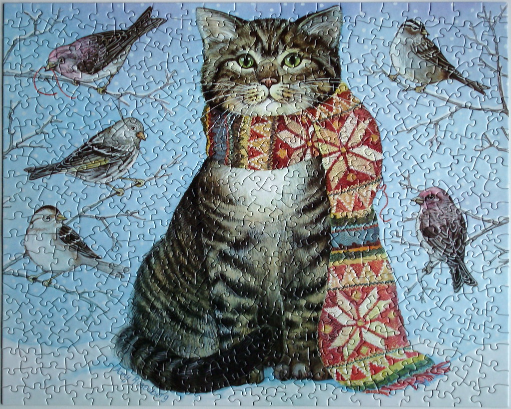 Winter Cat and Friends (Amy Rosenberg)